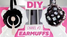 DIY Embellished Earmuffs ~ Inspired by Scream Queens | Karen Kavett