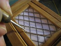 Leaded glass windows how-to