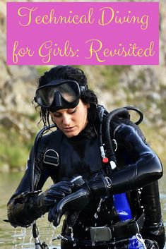If scuba is an adventure sport tech diving is the extreme-sport equivalent. Weve discussed technical diving for girls before but its time to take another look. Best Scuba Diving, Scuba Diving Gear, Cave Diving, Women's Diving, Technical Diving, Diving School, Scuba Girl, Seiko Diver, Womens Wetsuit