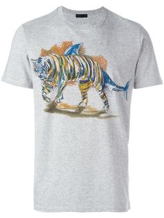 Etro tiger print T-shirt