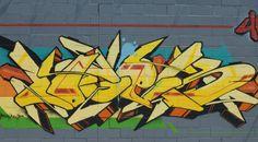 Cool NYC graffiti.