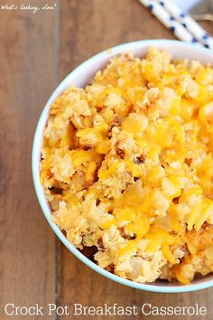 Slow Cooker Breakfast Casserole - Whats Cooking Love?