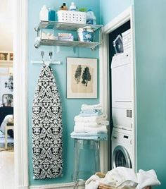 I need to hang my ironing board like this.