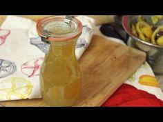 Selbstgemachter Erkältungssirup mit Zitrone und Ingwer / gegen Husten(reiz) und Heiserkeit (vegan) - YouTube