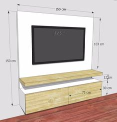 Meuble Tv Angle, Living Room Tv Unit, Living Room Decor, Living Room Designs, Be… – Typical Miracle Bedroom Tv Unit Design, Living Room Tv Unit Designs, Tv Wall Design, Tv In Bedroom, Partition Design, Tv Design, Tv On Wall Ideas Living Room, Bedroom Tv Cabinet, Living Room Tv Cabinet