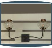 2 Light Gas Replica Sconce Lighting - Lowcountry Originals