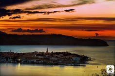 Izola after sunset  photo Jaka Ivančič