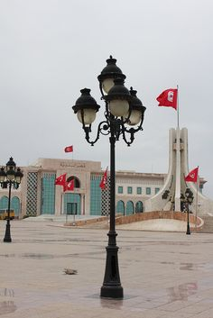 Tunis City Hall in Place de la Kasbah | Flickr - Photo Sharing!