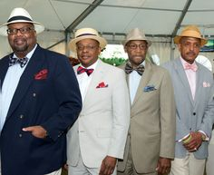 Our male guests dressed up nicely for Juleps and Jazz on Derby Day. Photos courtesy of the Wilmington (DE) chapter official photographer, Link Theresa Knox.