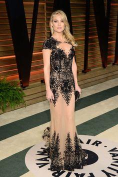 Kate Hudson in Zuhair Murad at the Vanity Fair Oscar party