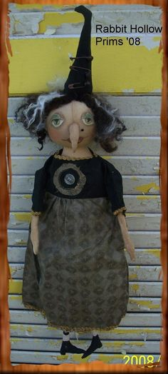 Helga Witch by Rabbit Hollow Prims http://www.etsy.com/shop/Rabbithollowprims?ref=ss_profile
