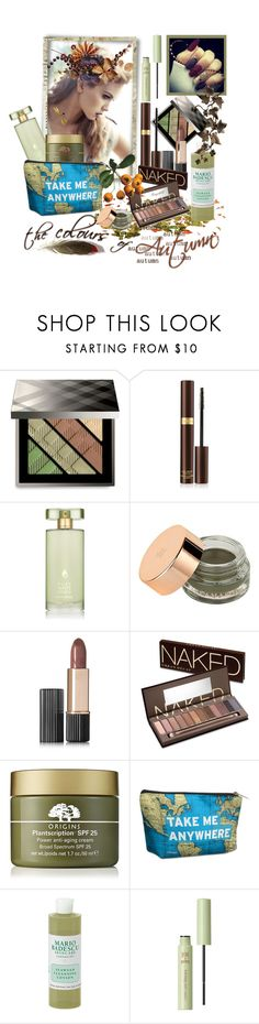 """""""Fall Beauty 2017"""" by ragnh-mjos ❤ liked on Polyvore featuring beauty, Lara, Burberry, Tom Ford, Estée Lauder, Illamasqua, Urban Decay, Origins, Mario Badescu Skin Care and Pixi"""