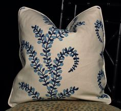 In Stock Pillow Covers made with John Robshaw by TheDraperyGal