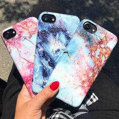Happy Friday ❤️ Pink Lava, Geode & Rubystone Case for iPhone 7 & iPhone 7 Plus from Elemental Cases
