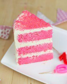 Objetivo: Cupcake Perfecto.: Pink Velvet Cake de chocolate blanco para el día internacional de Cáncer de Mama