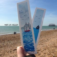 New Watercolour bookmarks for sale on @art.by.melody !! Go take a look ♀️