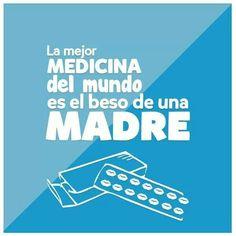 La mejor medicina del mundo, es el beso de una madre ;) ¡Buenos días! #happy