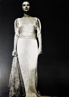 47: A fine Mariano Fortuny Peplos gown, circa 1920, of