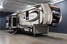 "WONDERFULLY LUXURIOUS FIFTH WHEEL!!!  2017 Jayco Pinnacle 36FBTS Luxury and comfort are the name of the game! Featuring both a stunning master bathroom with a large walk-in closet and glass door shower, as well as a half bath, you'll love having options! Enjoy a great night's sleep on the Simmons sleep system! The 36FBTS is 40'10"" long and weighs 12,715 lbs. Give our Pinnacle expert Michael Coron a call 231-670-9025 for pricing and more information!"