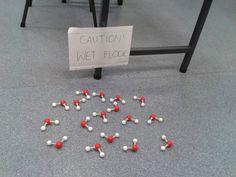 Caution: wet floor!