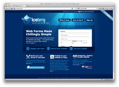 Iceberrg - web forms