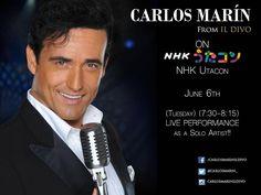 "1,200 To se mi líbí, 57 komentářů – Carlos Marin (@carlosmarinildivo) na Instagramu: ""Carlos Marin from Il divo will be performing live on Utacon! http://www.sonymusic.co.jp/…"""
