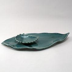 Leaf Plate by cherylwolff on Etsy, $40.00