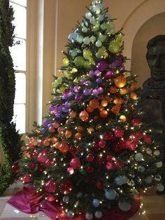 Antler Christmas Tree, Peacock Christmas Tree, Mesh Christmas Tree, Rose Gold Christmas Tree, Rainbow Christmas Tree, Whimsical Christmas Trees, Christmas Trees For Kids, Beautiful Christmas Trees, Christmas Tree Themes