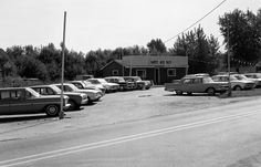 used car lot early 1960s