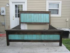 Farmhouse Bed   Do It Yourself Home Projects from Ana White: somewhere on the site are plans for queen sized