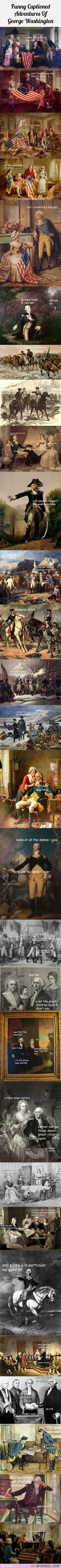 The Adventures Of George Washington…