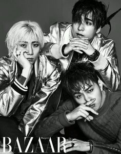 Dong Woon, Hyun Seung, Jun Hyung - Harper's Bazaar Magazine April Issue '14