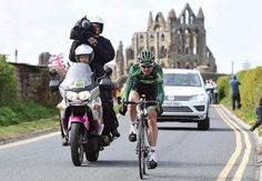 A Europcar rider on the move.