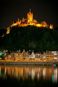 Cochem Castle - I have had dinner here.