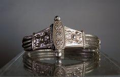 Vintage Bracelet Silver Artisan Bracelet by DanPickedMinerals