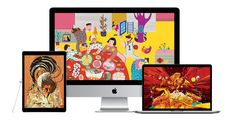Apple celebra el Año del Gallo de Fuego Chino con nuevos wallpapers para sus dispositivos