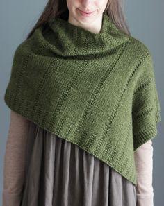 NobleKnits.com - The Brown Stitch Ponchetta Knitting Pattern, $6.95…