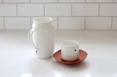 FANCY! Design Blog | NZ Design Blog | Awesome Design, from NZ + The World: For (Coffee) Lovers Only - new and noted from NZ's Taus Ceramics... Tea Pots, How To Find Out, Cool Designs, Fancy, Ceramics, Coffee Lovers, Eat, Tableware, Blog