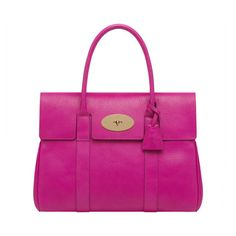 Mulberry Rainbow - Bayswater in Mulberry Pink Glossy Goat