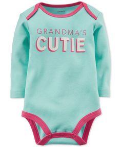 Carter's Baby Girls' Grandma's Cutie Bodysuit