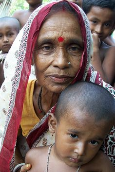 Fisher faces, Bangladesh. Photo by WorldFish, 2004 | Flickr