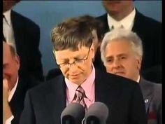 Scott Assemakis Bromley - Bill Gates Speech at Harvard Part-1