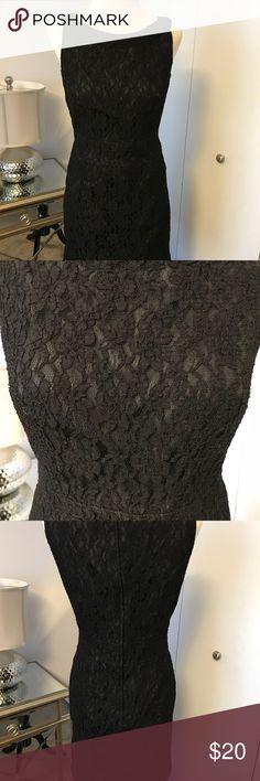 H&M  dress Lovely little black lace dress by H&M. EUC. H&M Dresses Midi