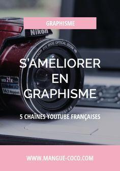 Je vous présente 5 chaînes youtube françaises très utiles pour s'améliorer en graphisme sans devoir vous endetter sur 5 ans ! (Photoshop, Illustrator, Lightroom, Code, HTML, CSS, etc).