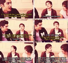 Zayn and Liam impersonating Harry..... It still makes me laugh every time.