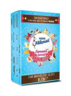 Milkmaid Ice Cream Kit (Pack of 4) @ Rs 312  Paytm