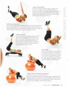 Basic exercises for Six pack, sexy abs #Fitness