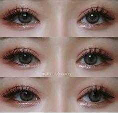 makeup for asian eyes makeup images makeup lessons eyeshadow makeup expire makeup for green eyes eyeshadow makeup makeup glasses eyeshadow makeup ideas Korean Makeup Look, Asian Eye Makeup, Korean Makeup Tips, Basic Makeup, Cute Makeup, Makeup Art, Elf Makeup, Skin Makeup, Eyeshadow Makeup