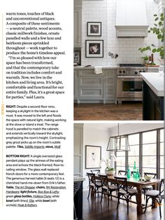 Neutral Palette, Wood Accents, Kitchen Cabinets, Furniture, Tables, Home Decor, Inspiration, Ideas, Mesas