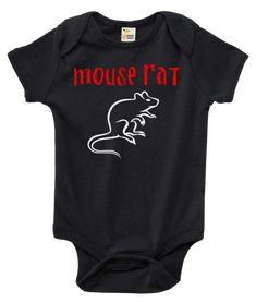 Mouse Rat Parks and Recreation One-piece Baby Bodysuit Baby Clothes